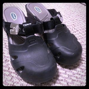 Dr. Scholl's Shoes - Dr. Scholl's comfy heeled mules! Black, Sz 7